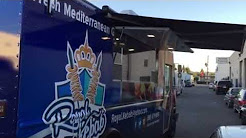 Royal Kebab Mediterranean Grill Truck by LA Stainless Kings Custom Food Truck Manufacturer
