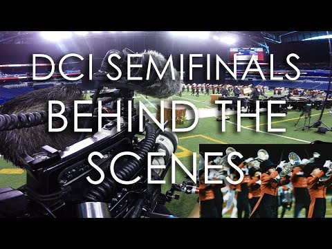 Behind the Scenes at DCI Semifinals (Full Length) | The Academy 2017
