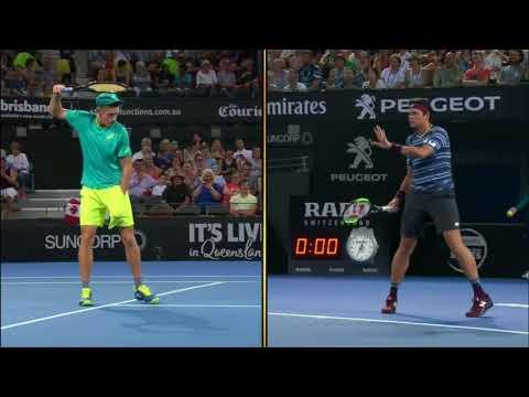 ATP250 Brisbane 2.forduló – Alex De Minaur (AUS) V Milos Raonic (CAN)