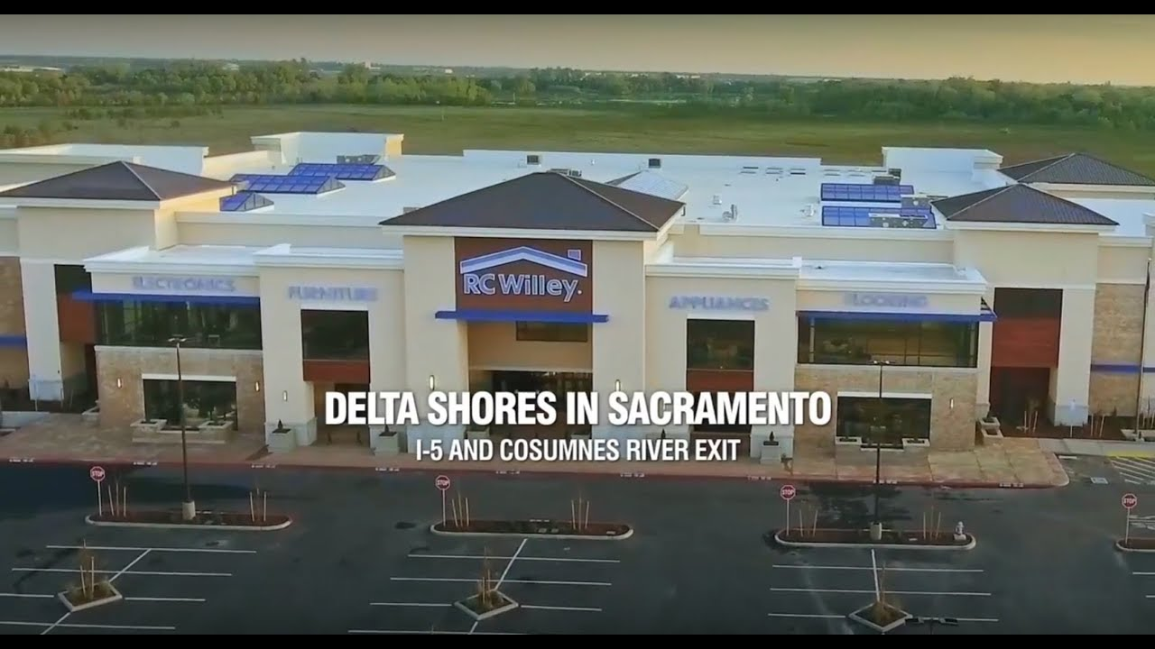 Rc Willey Now Open At Delta Shores In Sacramento Youtube