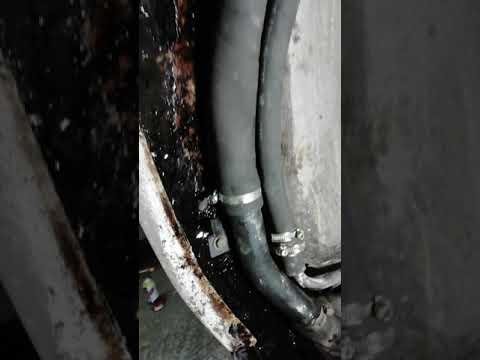 Toyota Ipsum ремонт заправочных патрубков