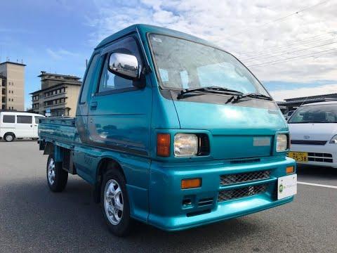 1991 Daihatsu Hijet Jumb S82P-053558 Japanese Mini Truck For Sale  (Japan Kei Truck)Used Car Vehicle