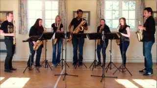 The Blaydon Races – saxophone ensemble (septet)