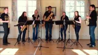 The Blaydon Races – saxophone ensemble (septet)