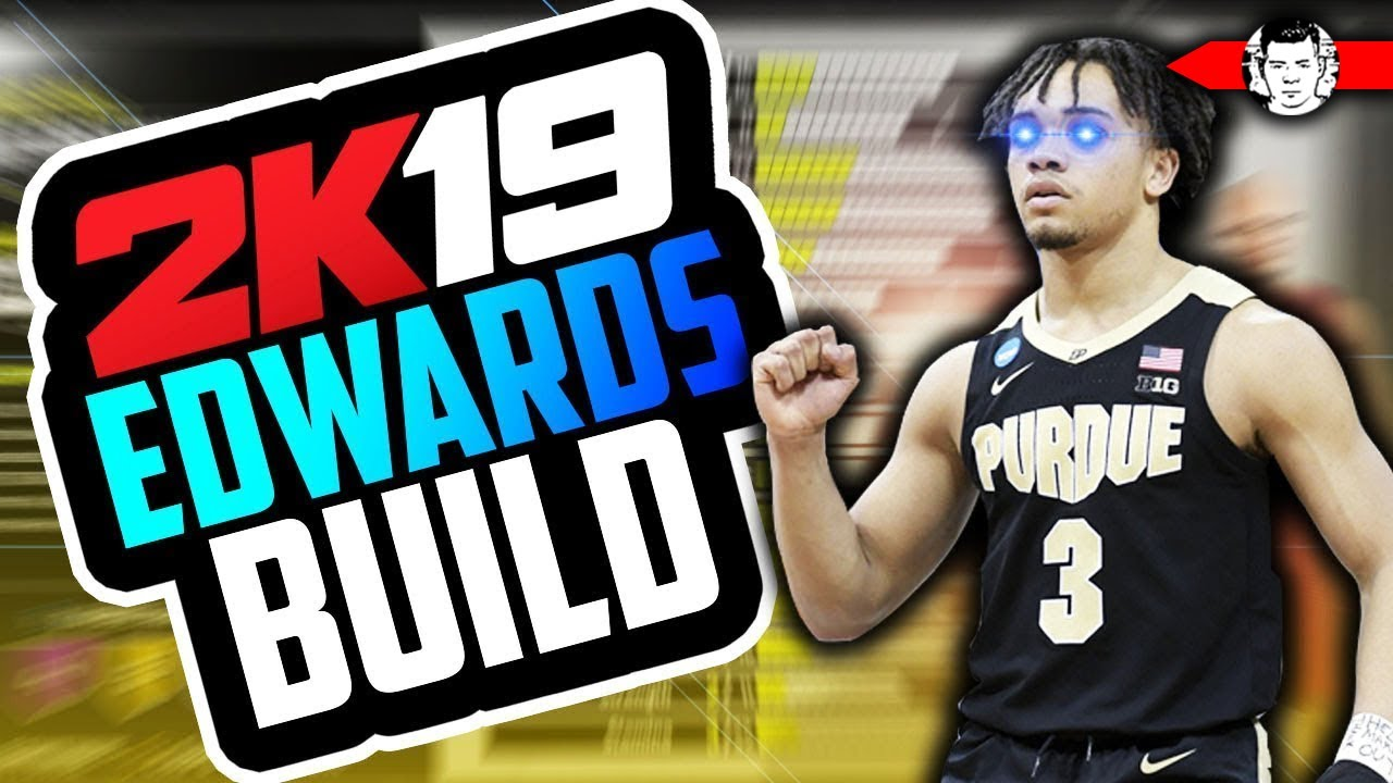 March Madness Demigod Carsen Edwards Build In Nba 2k19 Purdue