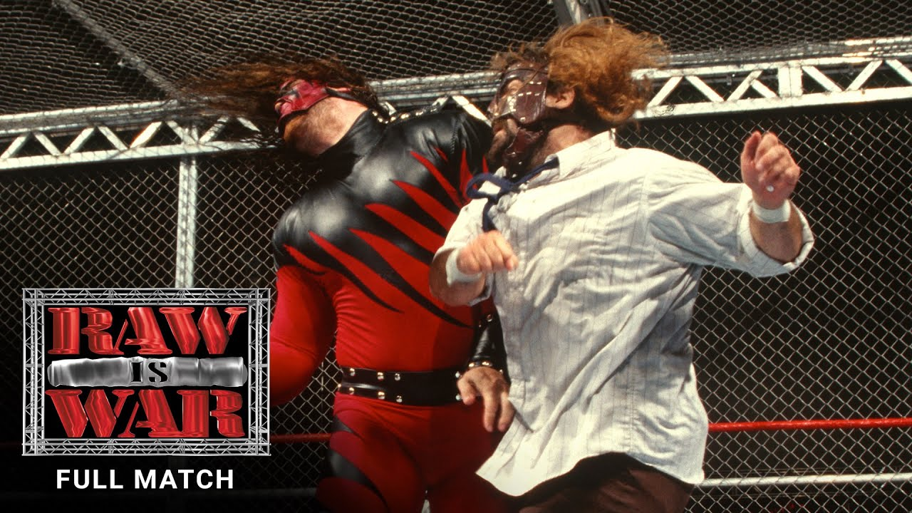 Download FULL MATCH - Mankind vs. Kane – Hell in a Cell Match: Raw, Aug. 24, 1998