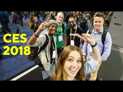 Tech Q&A with YouTubers @ CES !!!