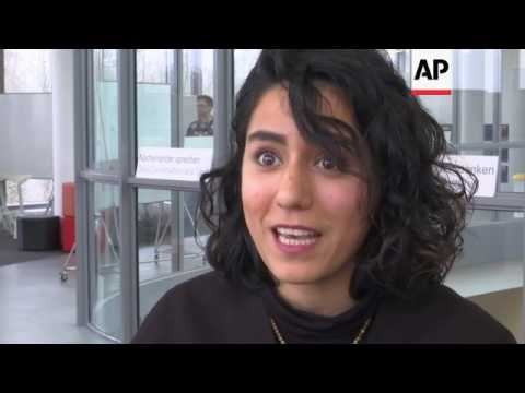 Iranian student unable to fly from Germany to US