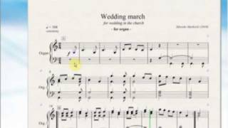 Wedding march (for organ in the church) - Wedding Music by Zdravko Marković