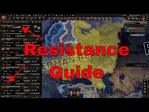 HOI4- Resistance Suppression [SP] Guide |