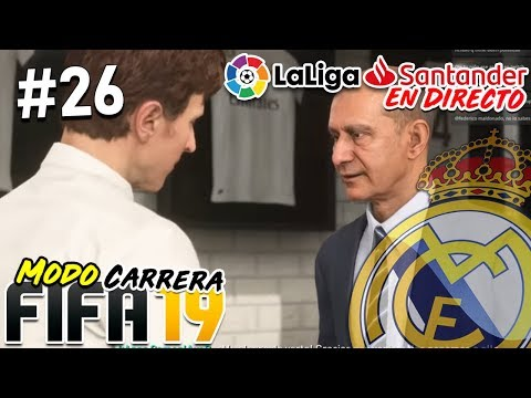 ÚLTIMOS FICHAJES Y COMIENZO DE LIGA | Real Madrid #26 | FIFA 19 Modo Carrera Manager REAL thumbnail