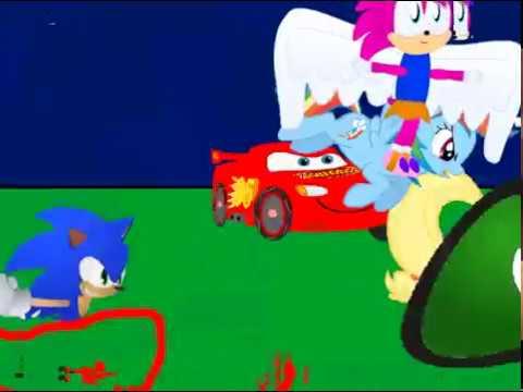 Tara Vs Sonic Vs Mcqueen Vs Applejack Vs Rainbow Dash Who Will Win Youtube