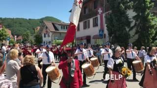 Marschmusik-Parade Toffen 2017