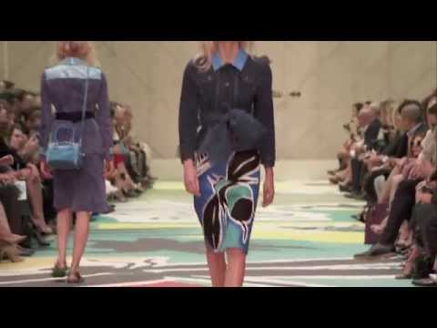 The Full Burberry Prorsum Womenswear S/S15 Show