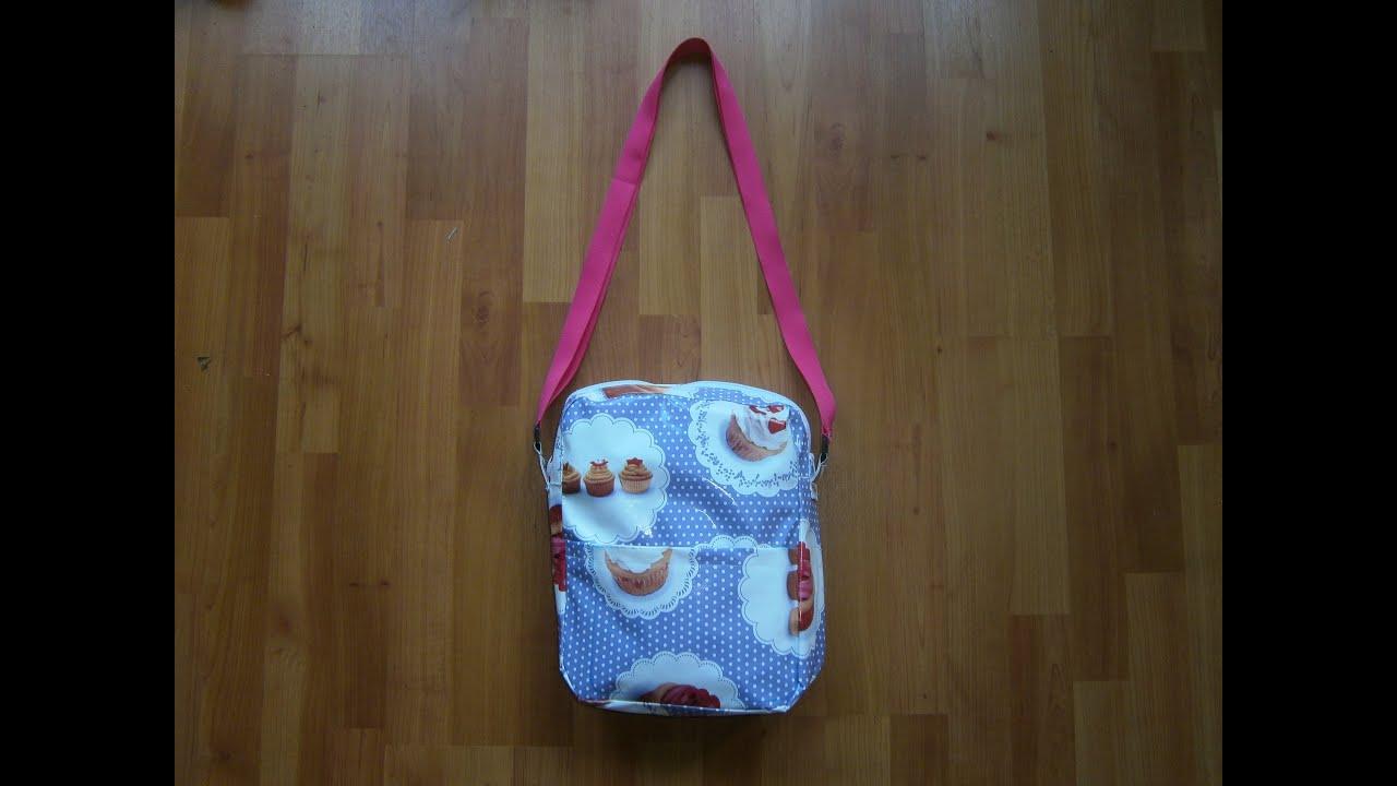 5218e65f263 Cupcake tas - Maak je eigen tas - een 2 minuten tutorial DIY - YouTube