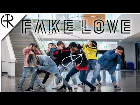 [APRICITY] BTS (방탄소년단) - FAKE LOVE ROCKING VIBE MIX Dance Cover (Girls Ver.)