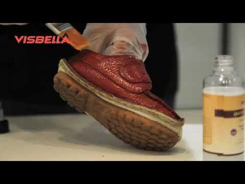 Visbella DIY Leather Color Restoration Kit - Leather Repair - Restore Shine and Color