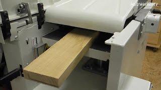 So richten Sie Ihr Holz werkstatttauglich her