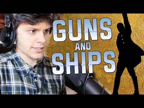 HAMILTON - GUNS AND SHIPS ( RUSTAGE COVER )