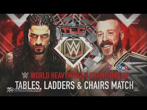 WWE TLC (Tables, Ladders & Chairs) 2015 Full and Official Match Card - HD