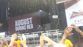 August Burns Red Live at Montebello Rockfest 2017