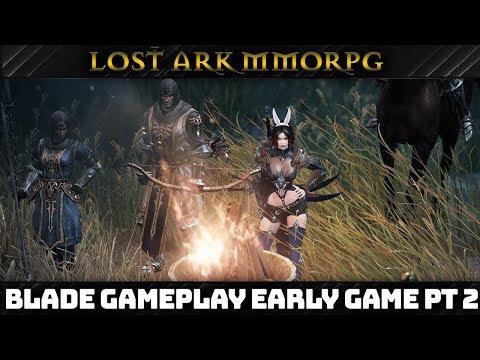 LOST ARK MMORPG [English] Open Beta Assassin Gameplay (Blade Spec) – DARK TIDE ARRIVES Part 2