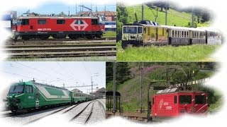 Swiss Locomotives type Bo'Bo'