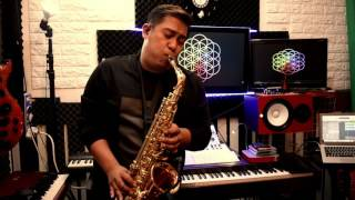 Everglow  - Coldplay Saxophone Cover