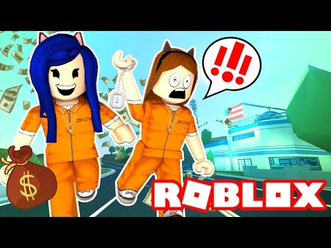 BREAKING OUT OF JAIL IN ROBLOX! | Roblox Jailbreak
