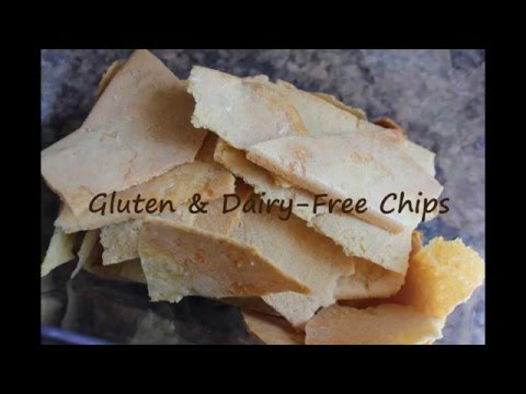 Healthy Gluten-Free & Dairy-Free Chips/Crackers Recipe