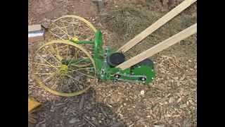 Repeat youtube video IronAge Wheel Hoe - HOWTO