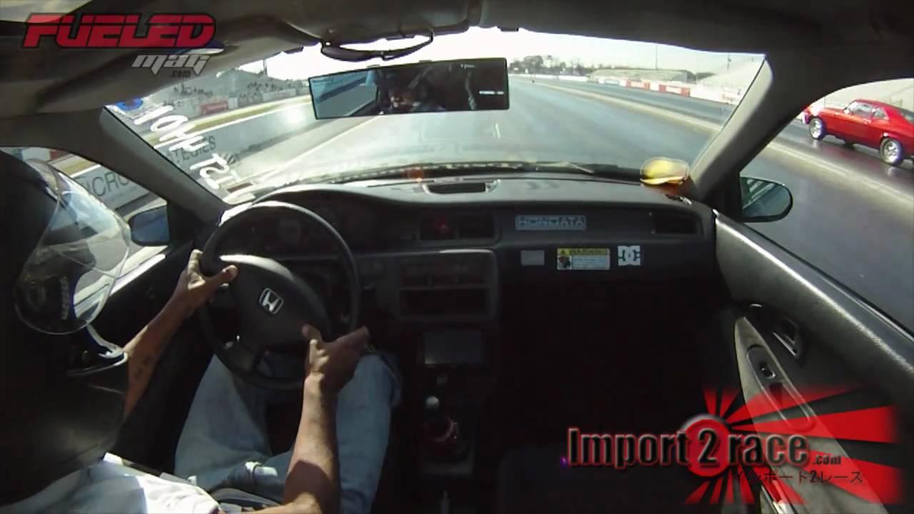 Honda Civic vs Muscle cars - YouTube