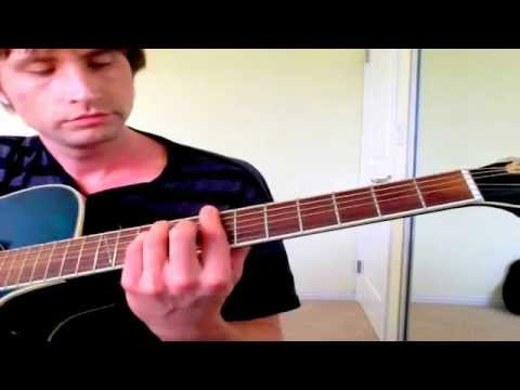 """Part 5 (Full Song) """"Under the Bridge"""" Red Hot Chili Peppers Guitar Lesson, How To, Tutorial"""