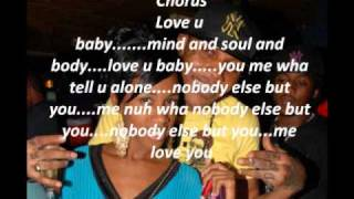 Vybz Kartel love u baby lyrics