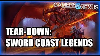 Tear-Down of Sword Coast Legends DM Gameplay