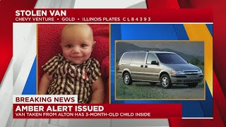 Amber Alert Issued For Van Stolen In Alton With 3-month-old Inside