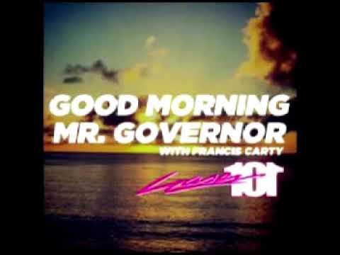 MR. GOVERNOR - NOVEMBER 6, 2017 | LETS RESTORE AND REBUILD