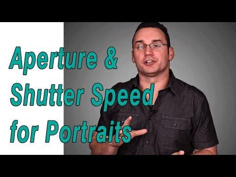 Aperture & Shutter Speed Settings for Portrait Photography