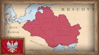 EU4 - Timelapse - MEIOU and Taxes 2.0 - Poland (Part 1)