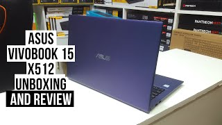Asus Vivobook 15 X512 Unboxing and Review in Bangla!!