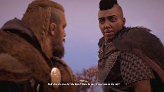 Assassin's Creed Valhalla - Tonna Boss Fight (Assassin's Creed 2020)