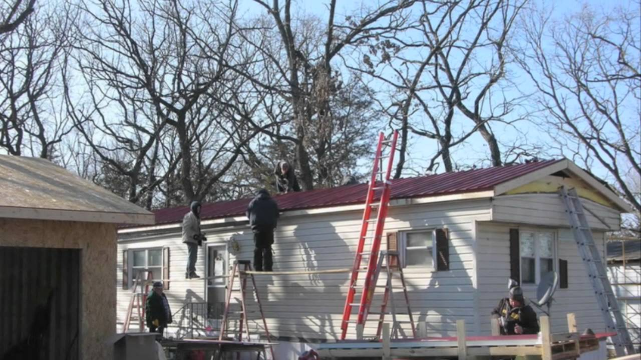 Mobile Home Stuff Metal Roofs Youtube