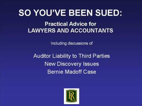 auditor liability An auditor's liability for general negligence in the conduct of an audit of its client financial statements is confined to duties and liabilities of accountants.