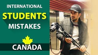 International Students Mistakes in Canada (8 Points - Student Life) Kataria TV