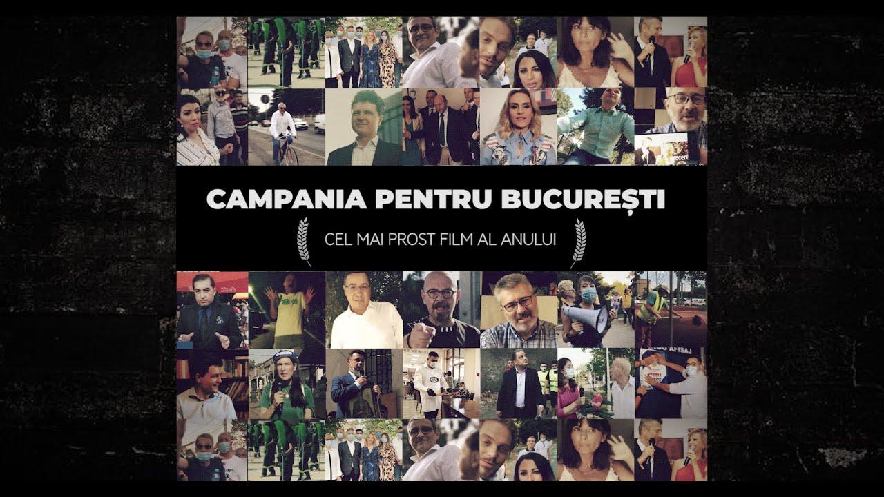 Lupta pentru București: film de campanie în regia candidaților