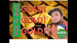 Saudi Arabia Gold rush!! The Most Beautiful Gold Ever!