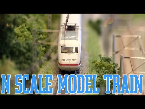 N Scale Model Railroad and N Gauge Model Railway with Digital Model Trains