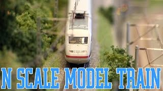 N Scale and N Gauge and NTrak Digital Model Railway Layout 1:160