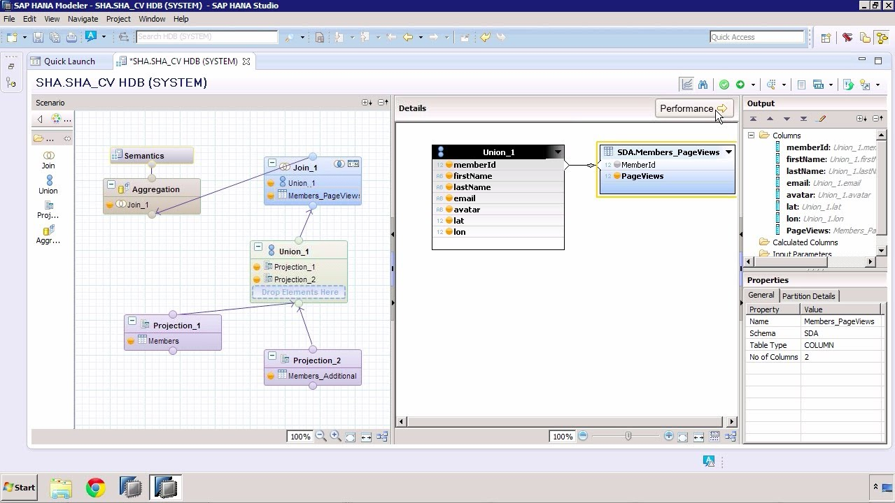 SAP HANA Academy - SPS 08 What's New: Performance Analysis when Modeling