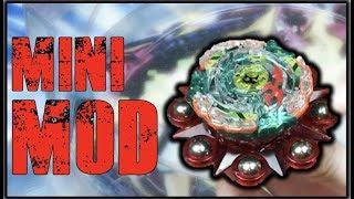 Beyblade Fidget Spinner Mod! | Beyblade Burst Mini Mod